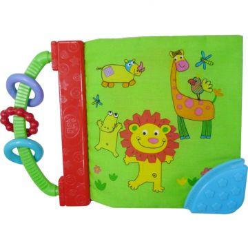 Развивающая игрушка-книга Biba Toys Мои друзья джунгли