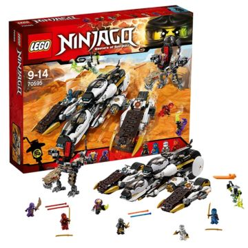 Конструктор Lego Ninjago 70595 Ниндзяго Внедорожник с суперсистемой маскировки