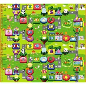 Развивающий коврик Babypol Забавный лабиринт 200х180см в сумке