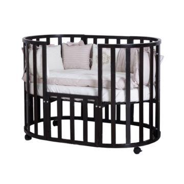 Кроватка-трансформер Incanto Uoma Da Vinci 10 в 1 (венге)