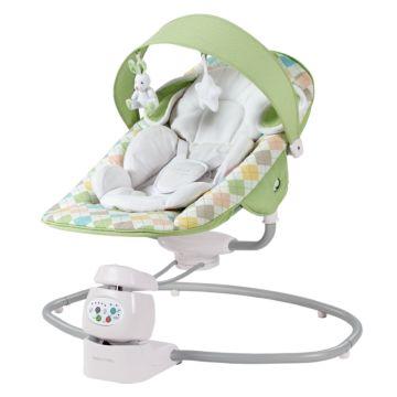 Электрокачели Happy Baby Dinky (green)