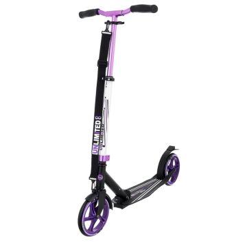 Самокат Unlimited NL500 R (фиолетовый)