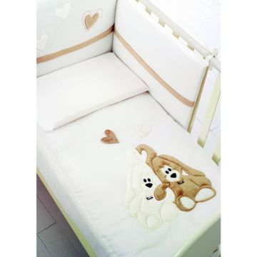 Комплект постельного белья Baby Expert Creminoby by Trudi (4 предмета)