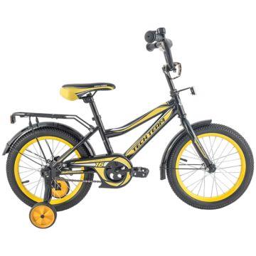 """Детский велосипед TechTeam 136 12"""" 2018 (черный)"""