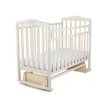 Кроватка детская Sweet Baby Ennio (поперечный маятник) Nuvola Bianca
