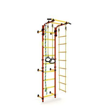Детский спортивный комплекс Kampfer Strong Kid Wall + 26 см (красный)