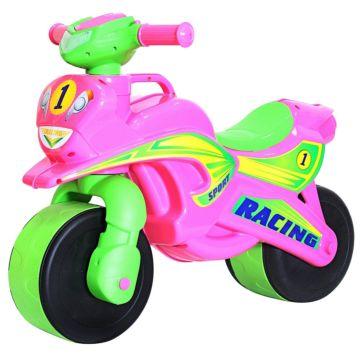 Беговел-мотоцикл RT Motobike Racing (розовый)