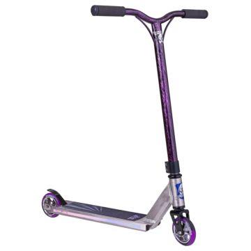 Трюковый самокат Grit Fluxx (raw/laser purple)