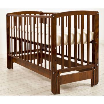 Кроватка детская Angela Bella Бьянка (продольный маятник) (орех)