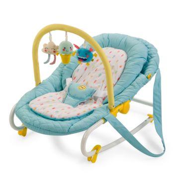 Шезлонг Happy Baby Nesty (синий)