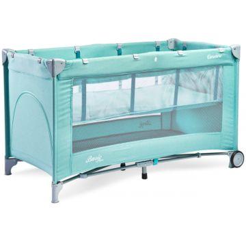 Манеж-кровать Caretero Basic Plus (мятный)