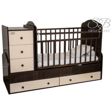 Кроватка-трансформер Sweet Baby Christiano Wenge