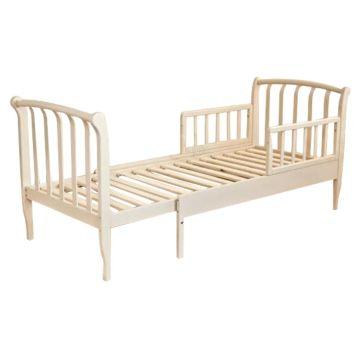 Кроватка-трансформер Можга Савелий С823 раздвижная с барьером (слоновая кость)