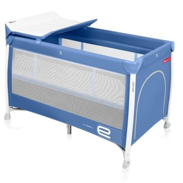 Манеж-кровать Espiro Chillout (синий)
