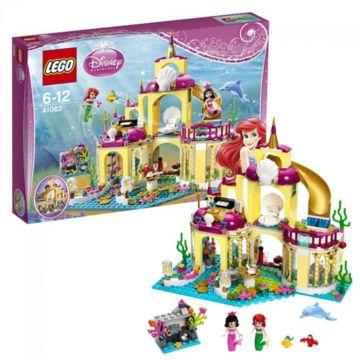 Конструктор Lego Disney Princesses 41063 Подводный дворец Ариэль