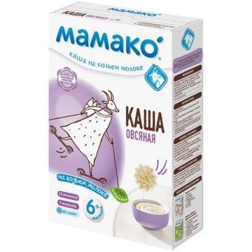 Овсяная каша Мамако на козьем молоке (с 6 мес.)