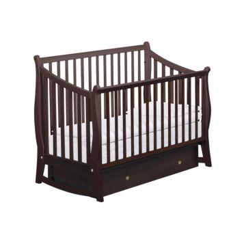 Кроватка детская Papaloni Maggy (поперечный маятник) (Орех шоколадный)