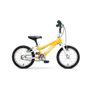 """Детский велосипед Woom 2 14"""" (желтый)"""