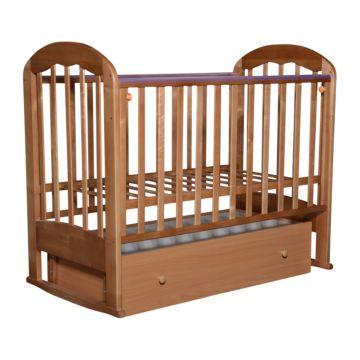 Кроватка детская Кедр Любаша 3 (поперечный маятник) (бук)