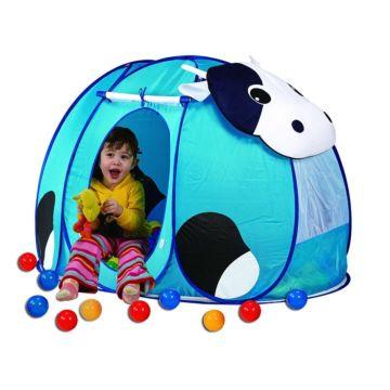 Детская палатка Calida с шарами Корова