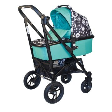 Коляска 2 в 1 Babyhit Drive 2 (black-green)