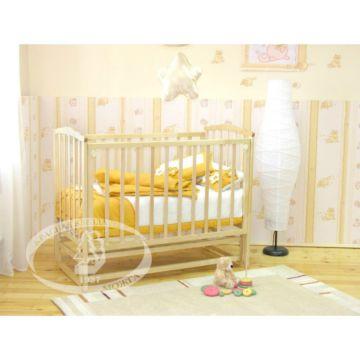 Кроватка детская Можга Кристина (продольный маятник) (слоновая кость)