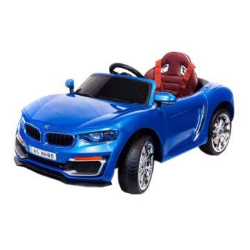 Электромобиль Coolcars HC6688 с крышей (синий)