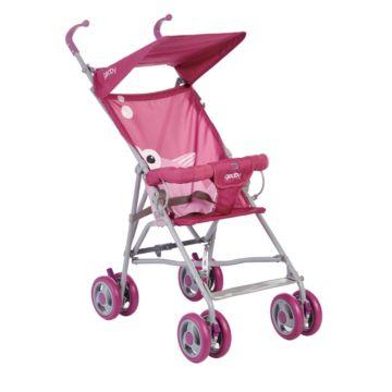 Коляска-трость Geoby 05D202A-F (pink)