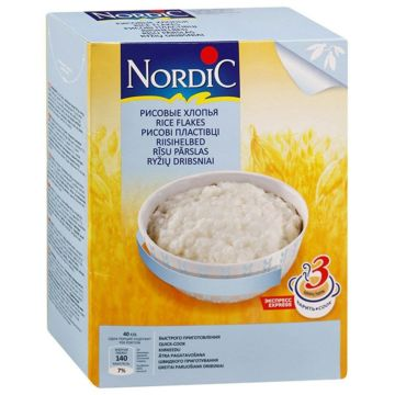 Каша Nordic рисовые хлопья 800 г