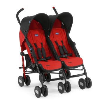 Коляска для двойни Chicco Echo Twin Stroller (Garnet)