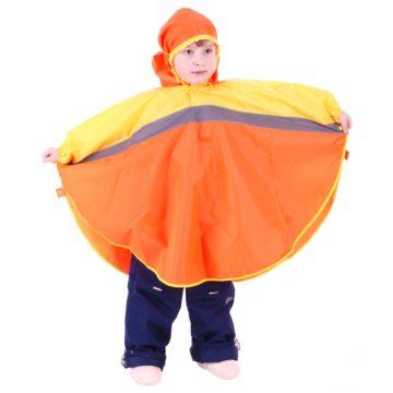 Дождевик детский Чудо-Чадо Светлячок (р.98-104) (Оранжевый-желтый)
