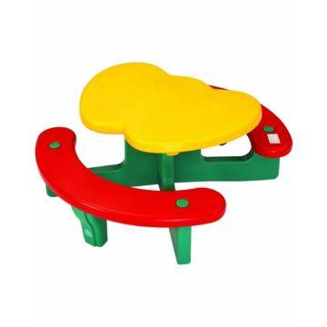 Стол с лавочками Lerado Яблочко LA-612