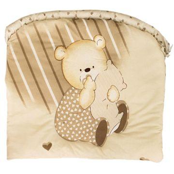 Бампер для кроватки Золотой Гусь Мишутка (бежевый)