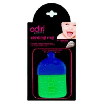 Прорезыватель Adiri Bottle Teething Ring (cyan-green)