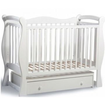 Кроватка детская Sweet Baby Dolce Vita (Поперечный маятник) Bianco