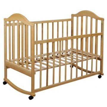 Кроватка детская Наполеон ЭКО (качалка-колесо)