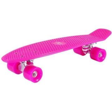 "Мини-круизер Hudora Skateboard Retro 22"" (розовый)"
