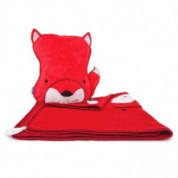 Подушка-плед Trunki SnooziHedz (Красный)