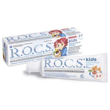 Зубная паста R.O.C.S. (от 3-7 лет) Фруктовый рожок