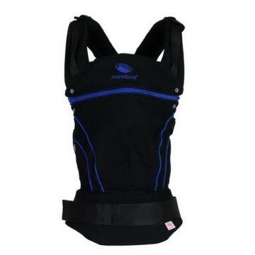 Слинг-рюкзак Manduca Black Line (Синий)