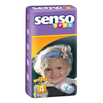 Подгузники Senso Baby Maxi (7-18 кг) 40 шт