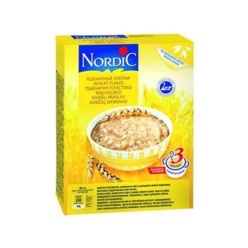 Каша Nordic пшеничные хлопья 600 г