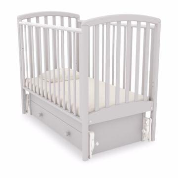 Кроватка детская Гандылян Дашенька (универсальный маятник) (белая кость)