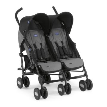 Коляска для двойни Chicco Echo Twin Stroller (Coal)