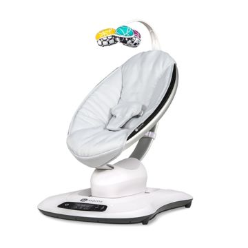 Кресло-качалка 4moms MamaRoo 4.0 (серебристый)