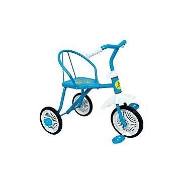 Трехколесный велосипед Moby Kids Дино (Голубой)