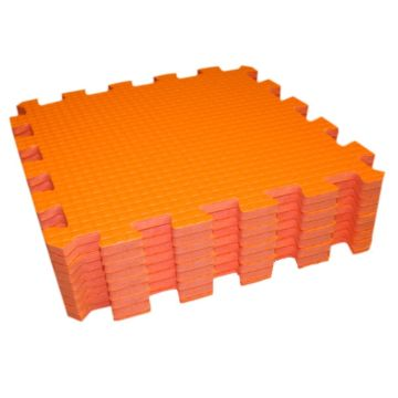 Мягкий пол Babypuzz 33*33 (оранжевый)