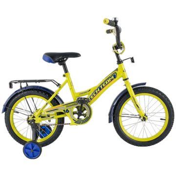"""Детский велосипед TechTeam 135 14"""" 2018 (салатовый)"""