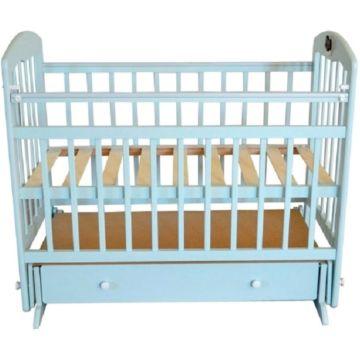 Кроватка детская Briciola 8 с поперечным маятником (белая)