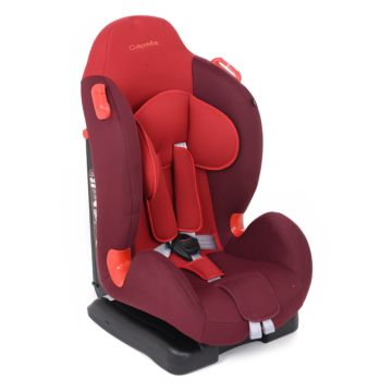 Автокресло Capella S1209P (Красный+малиновый)